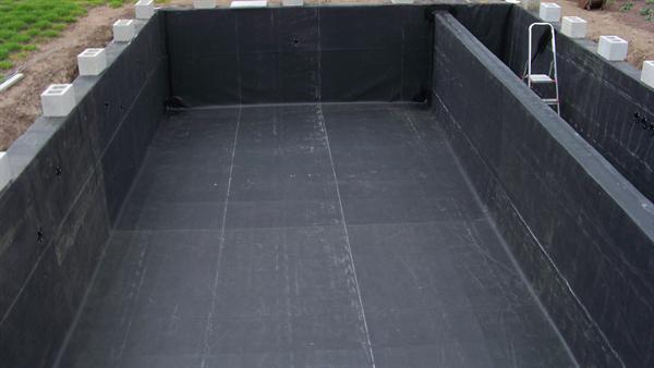 vijverfolie epdm halve parasol. Black Bedroom Furniture Sets. Home Design Ideas